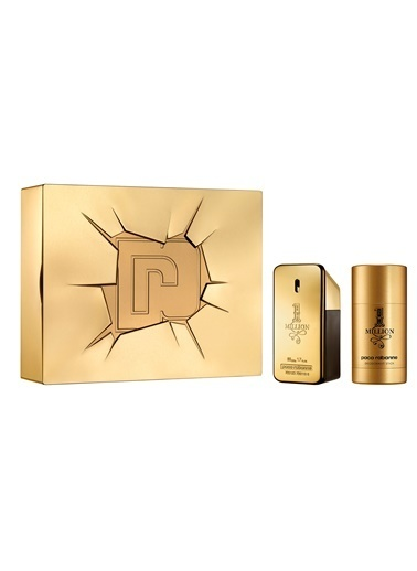 Paco Rabanne  1 Million Edt 50Ml+Ds.75 Erkek Parfüm Set Renksiz